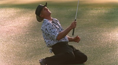 Greg Norman had the 1996 Masters all wrapped up but then he didn't.