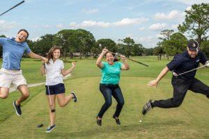 Surviving charity golf tournaments