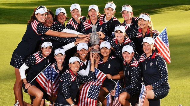 Controversy fuels U.S. Solheim Cup victory