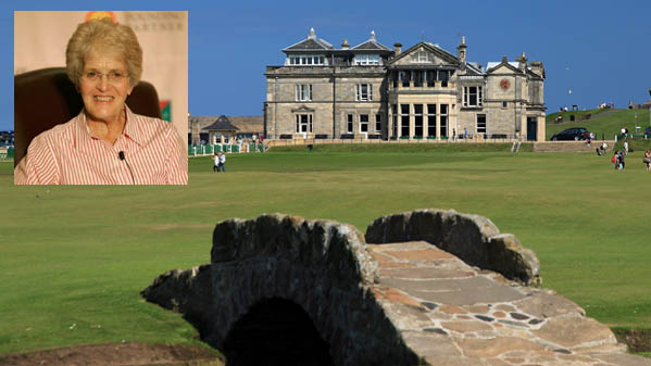 Marlene Streit becomes honourary member of Royal & Ancient Golf Club