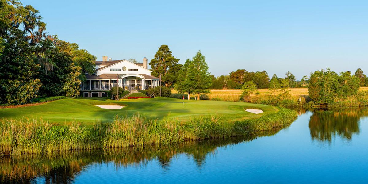 Caledonia Golf & Fish Club 18th hole