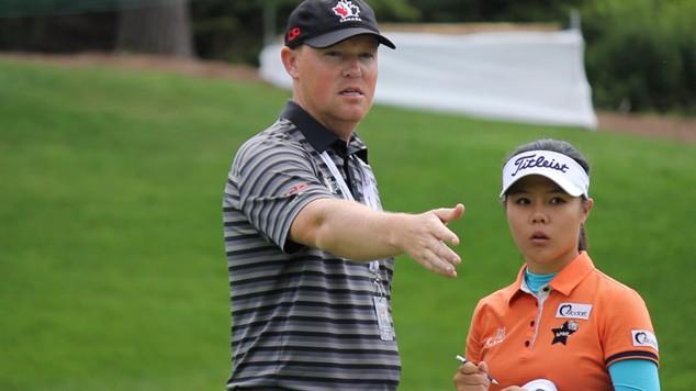 Golf Canada National Team Coach Tristan Mullally