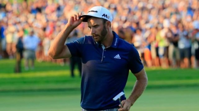 """Really?"" DJ hangs tough to win first major. Finally"