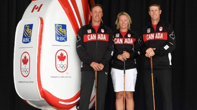 Canadian Olympic Committee announces Team Canada golfers for Rio Olympics