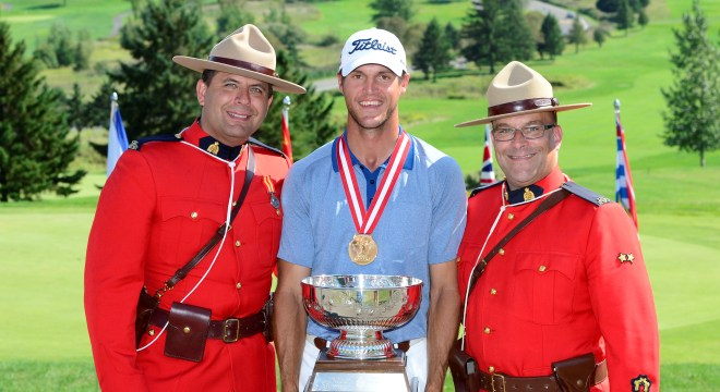 Garrett Rank wins third consecutive Canadian Mid Amateur title