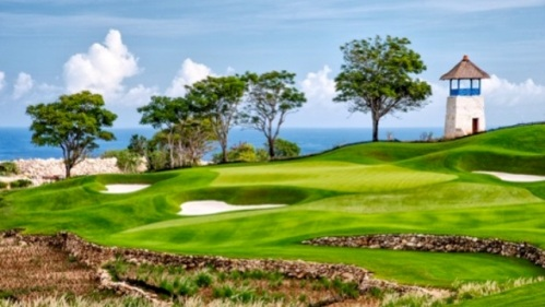 Hole No. 13, 148 yards, Bukit Pandawa G&CC, Bali, Indonesia