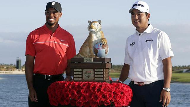 Hideki Matsuyama wins Hero World Challenge; Tiger Woods returns after 15 months