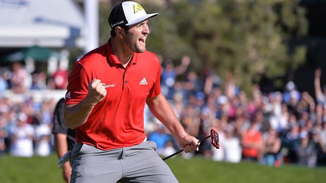 SPANISH SENSATION JON RAHM NABS FIRST PGA TOUR WIN AT TORREY PINES
