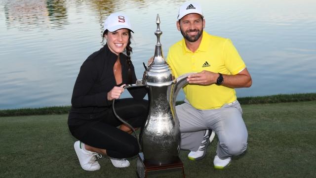 SERGIO GARCIA GOES WIRE-TO-WIRE TO WIN DUBAI DESERT CLASSIC
