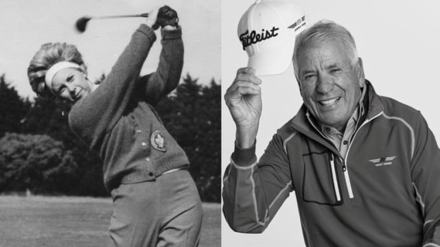 Amateur standout Judy Darling Evans and wedge guru Bob Vokey added to Cdn Golf Hall of Fame