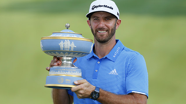 Dustin Johnson completes WGC Grand Slam with win at Dell Match Play