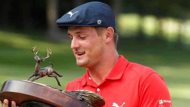Bryson DeChambeau earns Open Championship spot with win at John Deere Classic