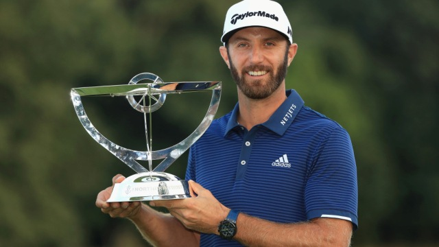 Dustin Johnson edges Jordan Spieth in first FedEx Cup playoff event