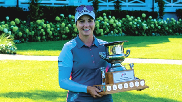Brittany Marchand wins playoff to claim PGA Women's Championship of Canada title