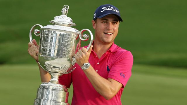 Justin Thomas breaks logjam at Quail Hollow to capture PGA Championship