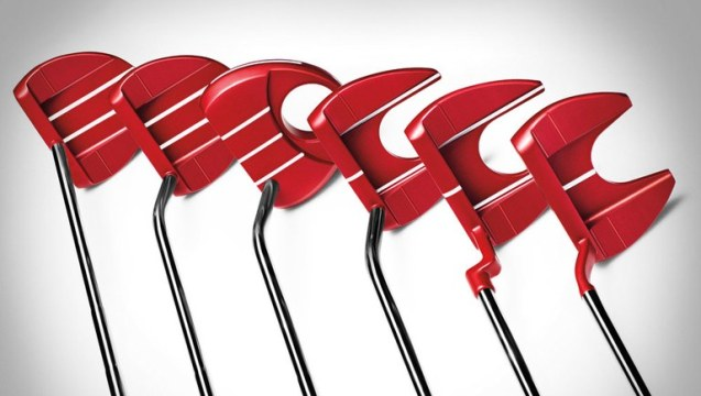 TaylorMade Golf launches TP Red Putter Collection