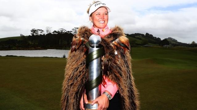 Brooke Henderson wins New Zealand Women's Open by five shots