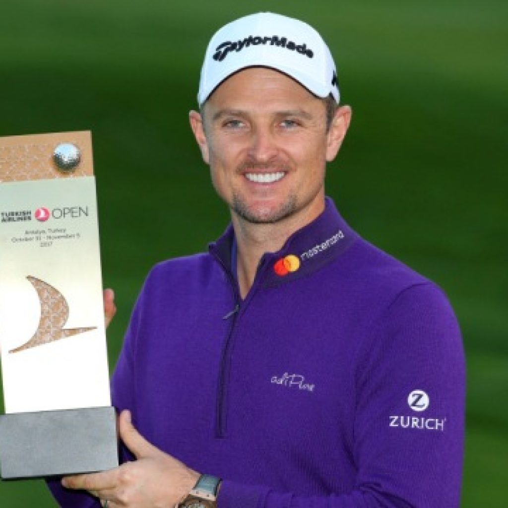 Justin Rose captures Turkish Airlines Open; moves to second in Race to Dubai