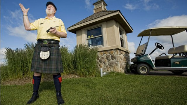 Unsolved mysteries. Is the course marshal a friend or foe?