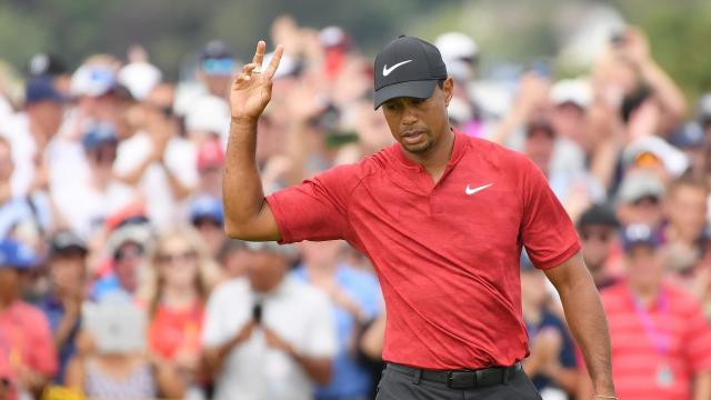 He didn't win but Tiger is officially back