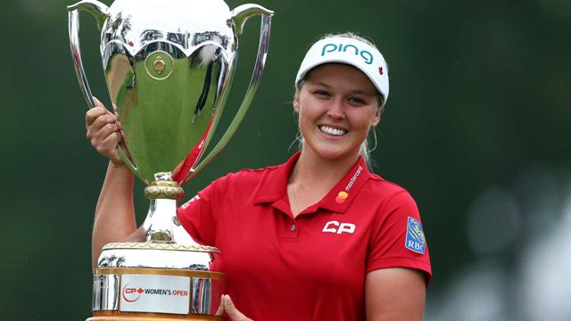 How would you rate Brooke Henderson's Canadian Open win?
