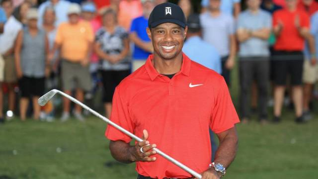 Tiger Woods notches #80 on the eve of the Ryder Cup