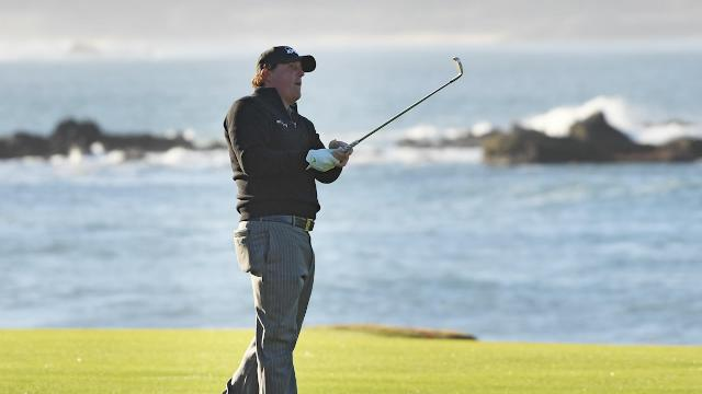 Is Mickelson now the favourite to win the U.S. Open?