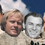 Who should be on the Mount Rushmore of golf?