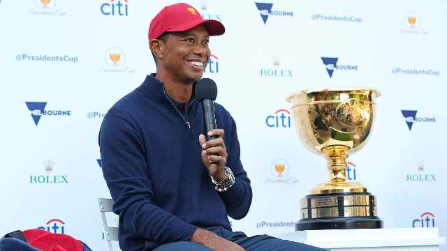 The Presidents Cup: Tiger Woods' Dilemma