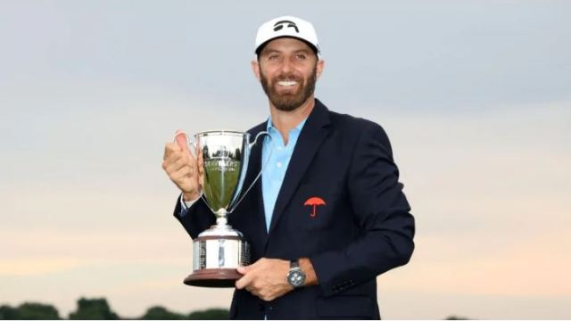 Dustin Johnson is in a league of his own when it comes to winning seasons