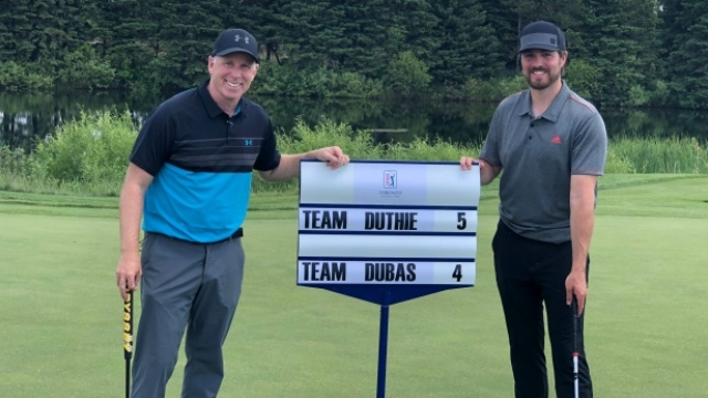 Kyle Dubas, Gerry Dee triumphant in charity match over James Duthie, Jeff O'Neill