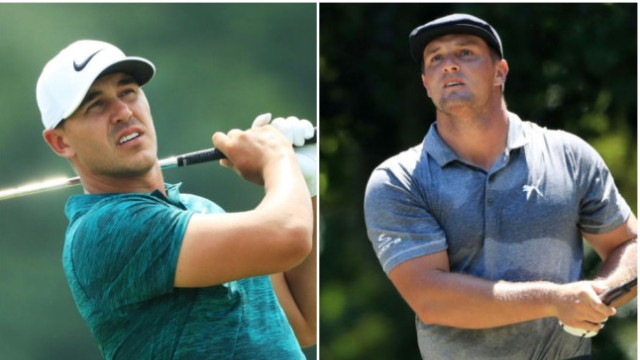 Koepka jabs DeChambeau about steroids; PGA Tour stays mum as usual