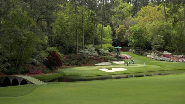 The Masters without fans is like a hot dog without mustard