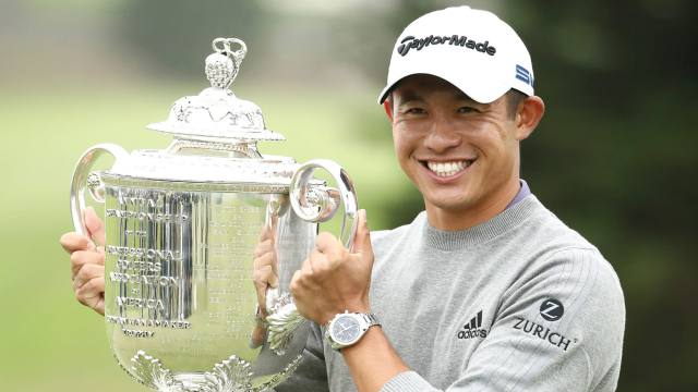 A star is born: Collin Morikawa impresses at PGA Championship