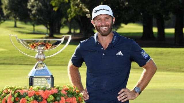 Dustin Johnson voted 2020 PGA Tour Player of the Year