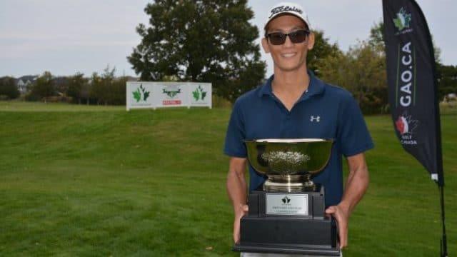 Ryan Tsang captures 2020 Ontario Men's Mid Amateur Championship