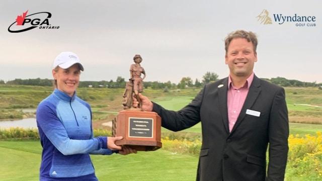 Jennifer Jaszek captures PGA of Ontario Women's Championship