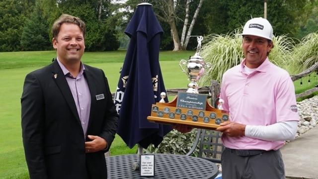 Danny King successfully defends PGA of Ontario Senior Zone Championship