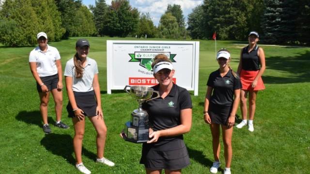 Golf Ontario announces transformative changes to junior high performance golf