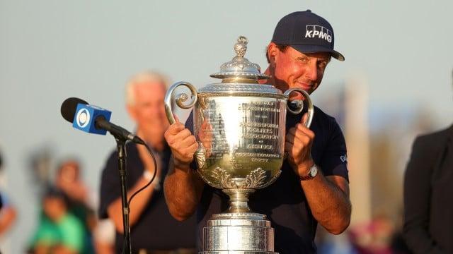 Phil Mickelson re-writes history at PGA Championship