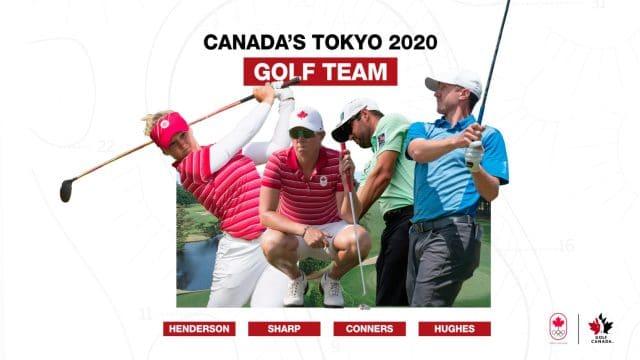 Canada's Tokyo Olympic golf team announced