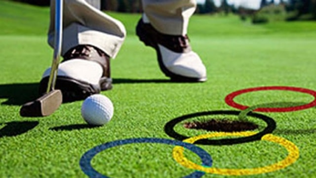 Golf on the world stage