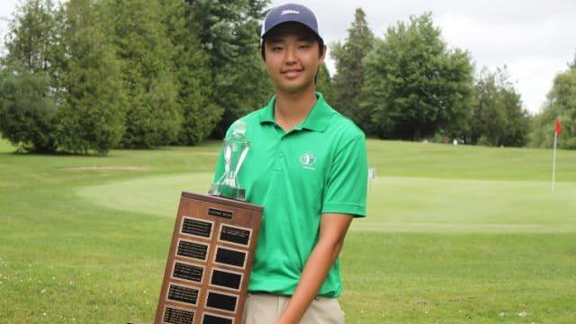 Owen Kim takes Ontario Junior Boys Spring Classic after three-way playoff