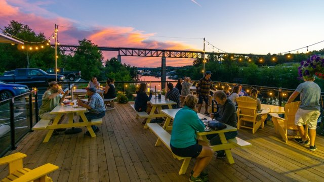 Intriguing beer, great food, spectacular scenery at the Trestle Brewing Company