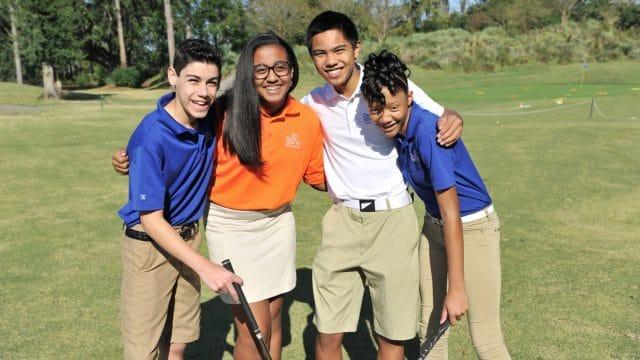 Team RBC, Harold Varner III and Golf Canada create the RBC Community Junior Golf Program