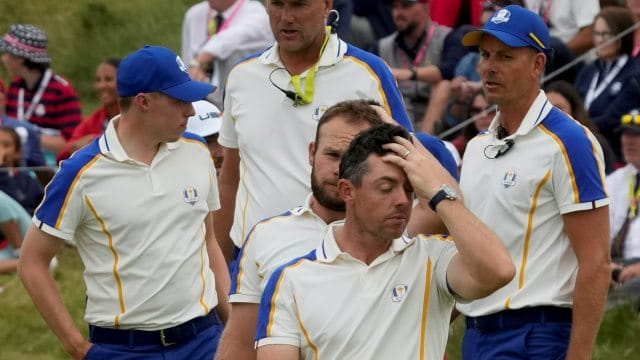 Team Europe has some work to do
