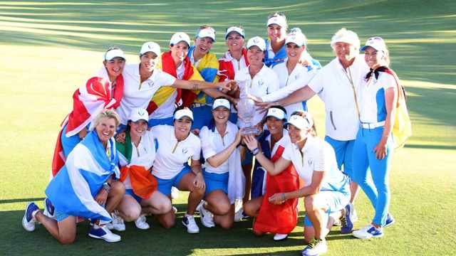 Team Europe makes it two straight at Solheim Cup