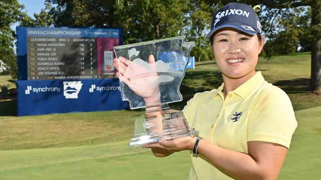 Nasa Hataoka earns second LPGA win of 2021 at Walmart NW Arkansas Championship