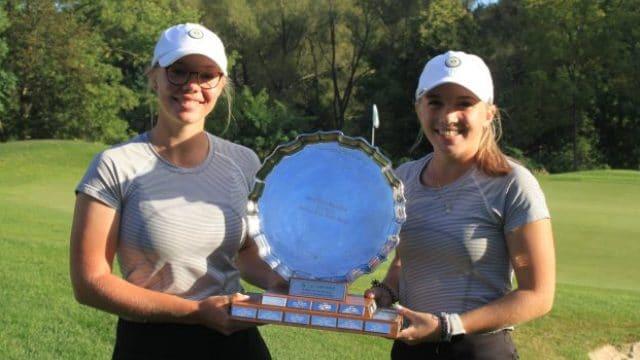 Aryn Matthews (Bigwin Island) and Nyah Kelly (Lindsay G&CC) prevail at Ontario Ladies Four Ball