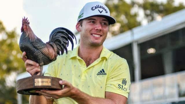 Sam Burns notches second PGA Tour victory at Sanderson Farms Championship